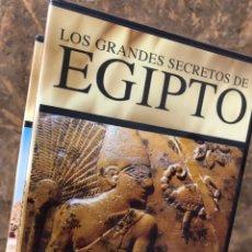 Series de TV: COLECCIÓN DVD LOS GRANDES SECRETOS DE EGIPTO - TUTANKHAMON RAMSES KARNAK CLEOPATRA…. Lote 284630128