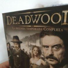 Séries de TV: DEADWOOD. SEGUNDA TEMPORADA COMPLETA. Lote 286170898