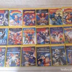 Séries de TV: COLECCION COMPLETA DE DVDS DE LA COLECCION HEROES DEL COMIC (SUPERMAN, BATMAN, X-MEN, ETC). Lote 286466328