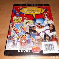 Series de TV: LA ENCICLOPEDIA DEL COMIC 6 DVD COLECCION TIEMPO LIBRE 2006-PRECINTADO-TERROR-MANGA-FLASH GORDON. Lote 286753013