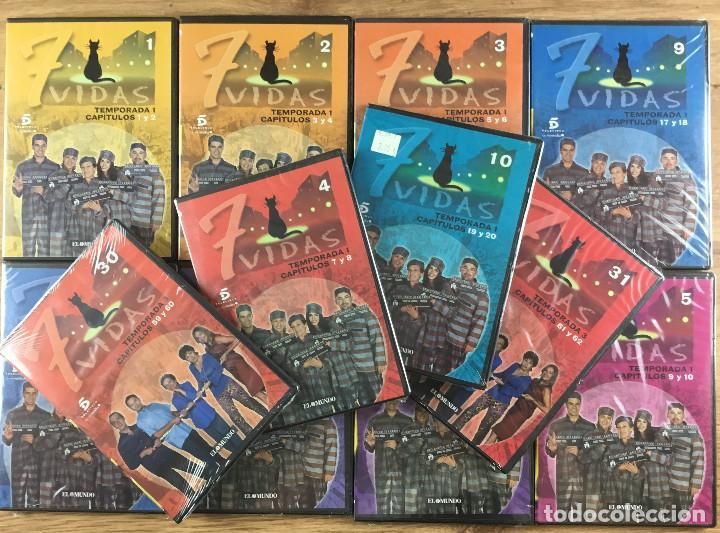 7 VIDAS SERIE COMPLETA 100 DVD 15 TEMPORADAS COLECCIÓN COMPLETA 204 EPISODIOS (Series TV en DVD)