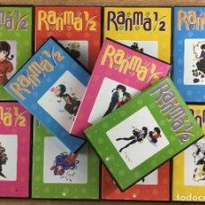 Series de TV: RANMA 1/2 SERIE COMPLETA 40 DVD COLECCIÓN COMPLETA EN MUY BUEN ESTADO. Lote 287546733