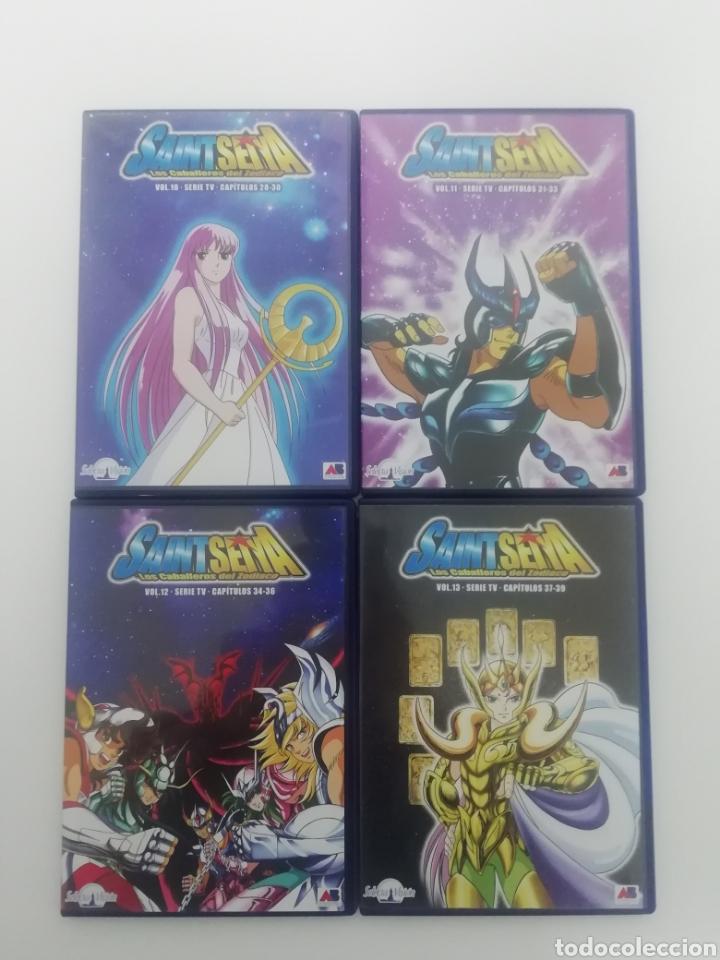 Series de TV: CABALLEROS DEL ZODIACO - SAINT SEYA- COLECCION COMPLETA 38 DVDS. - Foto 4 - 287595463
