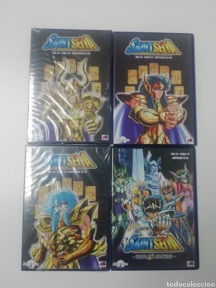 Series de TV: CABALLEROS DEL ZODIACO - SAINT SEYA- COLECCION COMPLETA 38 DVDS. - Foto 7 - 287595463