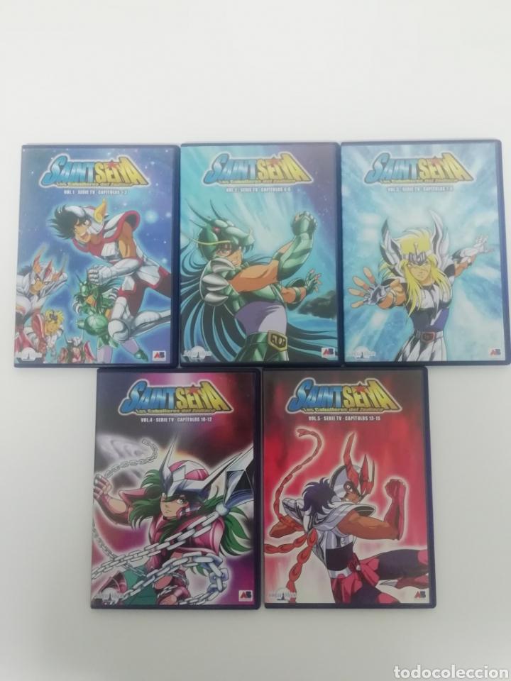 Series de TV: CABALLEROS DEL ZODIACO - SAINT SEYA- COLECCION COMPLETA 38 DVDS. - Foto 11 - 287595463