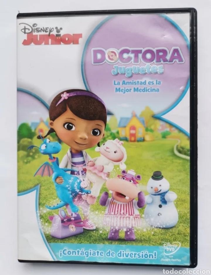 DOCTORA JUGUETES LA AMISTAD ES LA MEJOR MEDICINA DVD DISNEY JUNIOR (Series TV en DVD)
