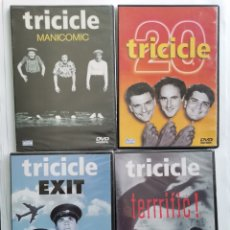 Series de TV: TRICICLE LOTE 4 DVDS MANICOMIC 20 EXIT TERRIFIC!. Lote 287680028