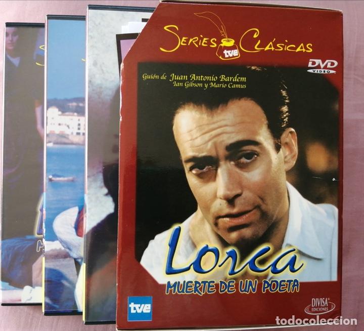 LORCA( MUERTE DE UN POETA , SERIE RTVE).NO CAPITULO PILOTO.MINISERIE COMPLETA E IMPECABLE! (Series TV en DVD)