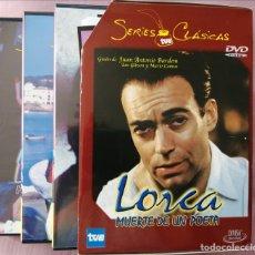 Series de TV: LORCA( MUERTE DE UN POETA , SERIE RTVE).NO CAPITULO PILOTO.MINISERIE COMPLETA E IMPECABLE!. Lote 288077983