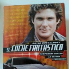 Séries de TV: EL COCHE FANTÁSTICO DVD. Lote 288338793