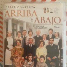 Series de TV: ARRIBA Y ABAJO( SERIE COMPLETA 1-5 TEMPORADAS. CLASICO DE LA TV.LA SERIE QUE INSPIRO DOWNTON ABEY!.. Lote 288502853
