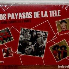 Series de TV: LOS PAYASOS DE LA TELE LA SERIE COMPLETA 7 DISCOS DVD NUEVO PRECINTADO (SIN ABRIR) R2. Lote 288893168