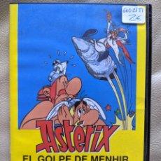 Series de TV: DVD ASTÉRIX EL GOLPE DE MENHIR DE FILMAX. Lote 288950173