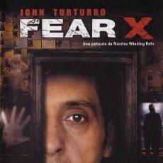 Séries de TV: FEAR X. Lote 278262358