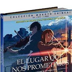 Series de TV: EL LUGAR QUE NOS PROMETIMOS (BLU-RAY + DVD + LIBRO) (KUMO NO MUKÔ, YAKUSOKU NO BASHO). Lote 289335733