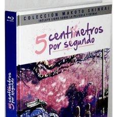 Series de TV: 5 CENTIMETROS POR SEGUNDO (BLU-RAY + DVD+ LIBRO) (BYÔSOKU GO SENCHIMÊTORU). Lote 289335798