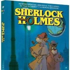 Series de TV: SHERLOCK HOLMES (SERIE COMPLETA REMASTERIZADA) (MEITANTEI HOLMES). Lote 289336048