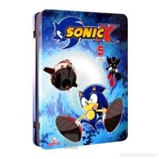 Series de TV: PACK SONIC X ESTUCHE METALICO CON 5 DVDS 10 EPISODIOS AQUITIENESLOQUEBUSCA ALMERIA. Lote 289879278