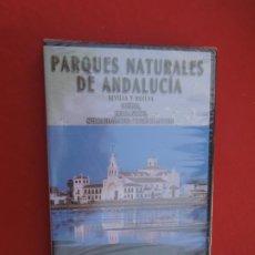 Series de TV: PARQUES NATURALES DE ANDALUCIA , SEVILLA HUELVA - DOÑANA - SIERRA NORTE -ARACENA -DVD PRECINTADO. Lote 289879698
