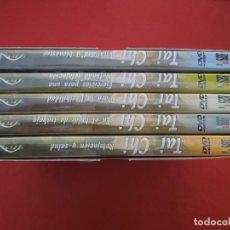 Series de TV: TAI CHI - PRACTICA EL ARTE DEL TAI CHI 5 DVD,S EN CAJA DE CARTON - VER FOTOS CADA TITULO. Lote 289884183