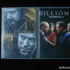Series de TV: BILLIONS TEMPORADA 1 Y 2 - DVD COMO NUEVOS. Lote 289890803