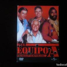 Series de TV: EL EQUIPO A PRIMERA TEMPORADA EN 5 DISCOS - DVD COMO NUEVOS. Lote 289891193