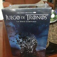 Series de TV: PACK JUEGO DE TRONOS LA SERIE COMPLETA (8 TEMPORADAS) DVD PRECINTADO. Lote 289918723