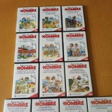 Series de TV: DVD'S ERASE UNA VEZ EL HOMBRE. Lote 290114998
