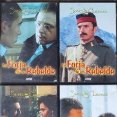 Series de TV: LOTE 4 DVD LA FORJA DE UN REBELDE - SERIES CLASICAS TVE - SERIE TV. Lote 290480138