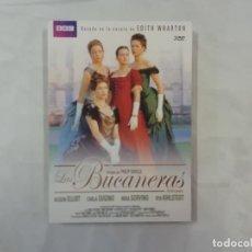 Series de TV: LAS BUCANERAS - SAVILLE SORVINO - TRIPLE DVD. Lote 293352113