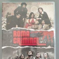 Series de TV: SERIE COMPLETA DVD ROMA CRIMINAL, PRECINTADA.. Lote 293625453