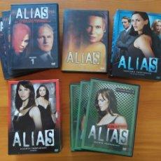 Series de TV: DVD ALIAS - SERIE COMPLETA - 5 TEMPORADAS - 29 DISCOS - LEER DESCRIPCION (IA). Lote 293760308