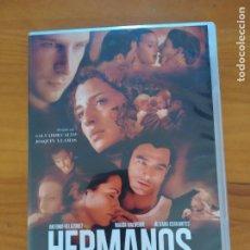 Series de TV: DVD HERMANOS - SERIE COMPLETA - 2 DISCOS - SALVADOR CALVO, JOAQUIN LLAMAS (5V). Lote 293942958
