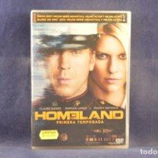 Series de TV: HOMELAND - PRIMERA TEMPORADA - 4 DVD. Lote 294459203