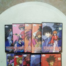 Series de TV: LOTE DE 10 DVD KENSHIN EL GUERRERO SAMURAI. Lote 294500013