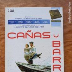 Series de TV: DVD CAÑAS Y BARRO - VICENTE BLASCO IBAÑEZ - 2 DISCOS (AV). Lote 295458403