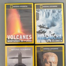 Series de TV: LOTE 8 DVD NATIONAL GEOGRAPHIC. Lote 295520908