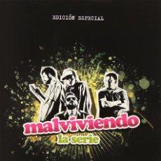 Series de TV: SERIE COMPLETA EN DVD MALVIVIENDO EDICIÓN ESPECIAL PRECINTADO AQUITIENESLOQUEBUSCAS ALMERIA. Lote 297020383