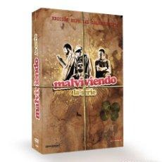 Series de TV: SERIE COMPLETA EN DVD MALVIVIENDO EDICIÓN ESPECIAL CASI COMO NUEVO AQUITIENESLOQUEBUSCAS ALMERIA. Lote 297020858