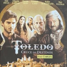 Series de TV: SERIE COMPLETA DVD TOLEDO CRUCE DE DESTINOS AQUITIENESLOQUEBUSCA ALMERIA. Lote 297051318