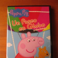 Series de TV: PEPPA PIG UN PASEO EN GLOBO Y OTRAS HISTORIAS (DVD). Lote 297100173