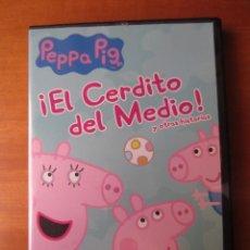 Series de TV: PEPPA PIG EL CERDITO DEL MEDIO Y OTRAS HISTORIAS (DVD). Lote 297100468