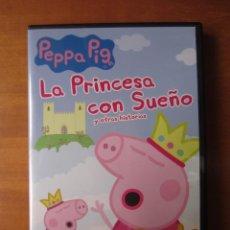 Series de TV: PEPPA PIG LA PRINCESA CON SUEÑO Y OTRAS HISTORIAS (DVD). Lote 297100588