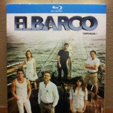 Series de TV en Blu Ray: EL BARCO PRIMERA TEMPORADA COMPLETA BLU RAY DISC SERIE ANTENA 3 COMO NUEVO W. Lote 35663645