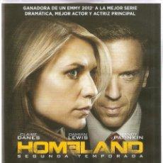 Series de TV en Blu Ray: HOMELAND 2ª TEMPORADA -SERIE TV-4 DISCOS CON LOS 12 EPISODIOS + EXTRAS. Lote 42071034