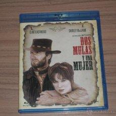 Series de TV en Blu Ray: DOS MULAS Y UNA MUJER BLU-RAY DISC DON SIEGEL CLINT EASTWOOD NUEVO PRECINTADO. Lote 111929944