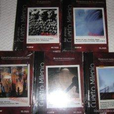 Series de TV en Blu Ray: CUARTO MILENIO (IKER JIMÉNEZ) - 25 DVD / LIBROS DE LA SEGUNDA TEMPORADA, NUEVOS. Lote 57238925