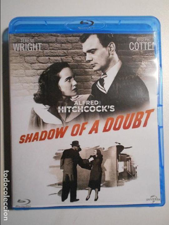 SHADOW OF A DOUBT. LA SOMBRA DE UNA DUDA. BLURAY DE LA PELICULA DE ALFRED HITCHCOCK. CON TERESA WRIG (Series TV en Blu -Ray )
