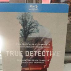 TRUE DETECTIVE. TEMPORADA 1-2 BLU-RAY DISC.
