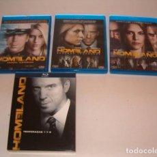 Series de TV en Blu Ray: CLAIRE DANES, DAMIAN LEWIS, MANDY PATINKIN. HOMELAND. TEMPORADAS 1, 2 Y 3. RMT80297. . Lote 85190756